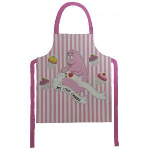 Grembiule cucina rosa Barbapapà - I love my cupcakes | Pelusciamo.com