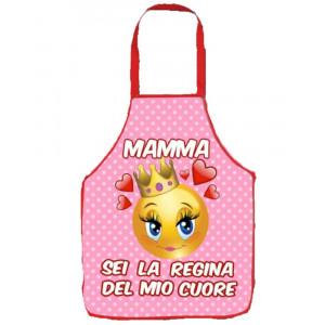 Grembiule cucina Festa Della Mamma Sei La Regina PS 05907 pelusciamo store