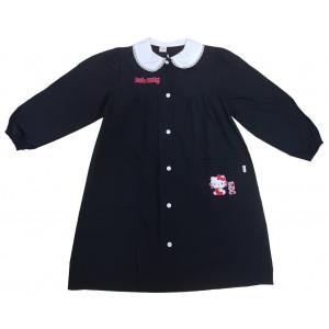 Grembiule Bambina Hello Kitty Nero Casacca Scolastica -9 anni | Pelusciamo.com