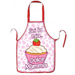 Grembiule cucina Festa Della Mamma Dolcetto  | pelusciamo store
