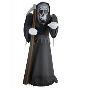 Grim Reaper Morte Gonfiabile E Luminosa 244 Cm PS 09207 Pelusciamo Store Marchirolo