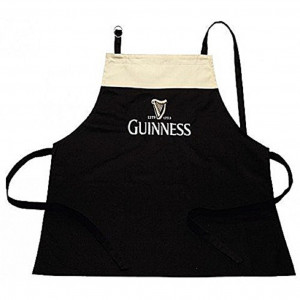 Guinness Beer Grembiule Cucina Birra Stile Pub Cotone PS 09295 Pelusciamo Store Marchirolo