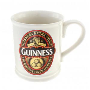 Tazza Guinness Beer Boccale Ceramica bianca *03434 gadget idea regalo birra pelusciamo