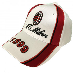 Cappellino Baseball Uomo Cappello Milan Con Visiera A.C.Milan PS 09791 pelusciamo store Marchirolo