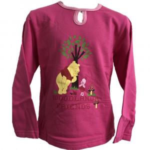 T-shirt manica lunga Disney Winnie the Pooh e Piglet *13664