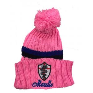 Cappello Ponpon Monelle Rosa Abbigliamento Invernale Ufficiale PS 10964 Pelusciamo Store Marchirolo