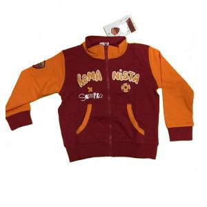 Felpa neonato romanista sempre abbigliamento ufficiale A.S. Roma 24655 PELUSCIAMO STORE