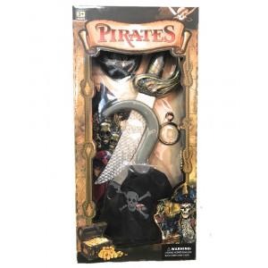 Set Accessori Pirata Uncino Pugnale Carnevale Pirati PS 26570 Pelusciamo Store Marchirolo