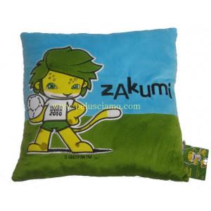 Cuscino Zakumi Mascotte ufficiale  Mondiali calcio Sud Africa 2010 *07311