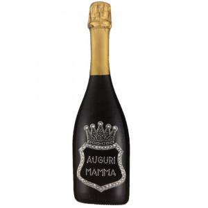 Bottiglia Di Prosecco Extra Dry 0.75 ML. Personalizzata Auguri Mamma PS 27262
