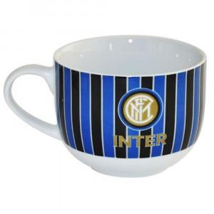 Tazza Colazione Neroazzurra Ceramica Inter Internazionale PS 10986 Pelusciamo Store Marchirolo
