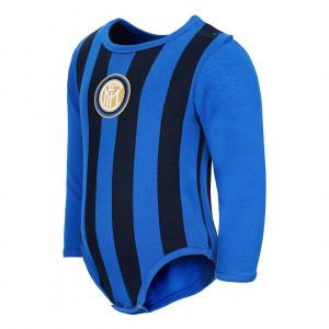 Body Neonato Inter Manica Lunga Nero Azzurro Ufficiale Fc Internazionale PS 28201 Pelusciamo Store Marchirolo