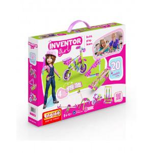 Engino Inventor girl 20 modelli in 1 gioco di costruzioni 04606 pelusciamo store
