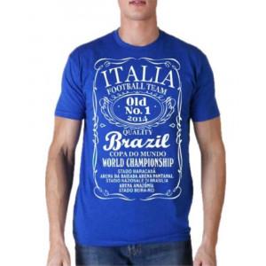 T-shirt Nazionale Italiana Maglietta Mondiali 2014 Brasile PS 18128
