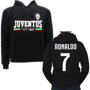 Felpa uomo Con Cappuccio Juventus 24816 Abbigliamento Ufficiale pelusciamo store