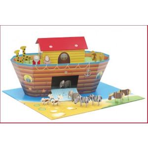 Krooom - Arca di Noe' in cartone rinforzato reciclabile *03498