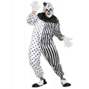 Costume Halloween Adulto Killer Pierrot  *24570 | pelusciamo.com