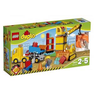 LEGO Duplo 10813 - Set Costruzioni Grande Cantiere PS 07384 pelusciamo store