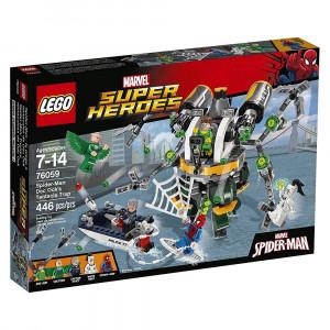 LEGO Super Heroes 76059 - Spider-Man: la Trappola Tentacolare PS 07427 pelusciamo store