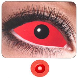 Lenti a Contatto Colorate Occhio Rosso Completo PS 11261 Semestrali | Pelusciamo.com