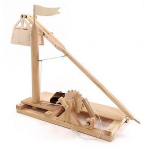 Giochi Tecnologici In Legno Trebuchet PS 07201 Leonardo Da Vinci pelusciamo store