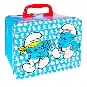 Box Portamerenda I Puffi Azzurro PS 06240 Accessorio Asilo Scuola pelusciamo store