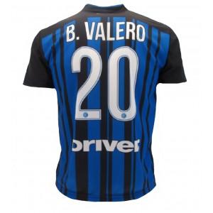 2da070b5a0e531 Maglia Inter Borja Valero 2017/2018 PS 25234 Taglie Bambino