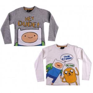 T-shirt manica lunga Adventure Time abbigliamento cartoni animati *03574 pelusciamo store