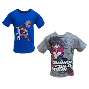 T-Shirt Bambino Bakugan Battle brawlers, Maglietta maniche corte | pelusciamo.com