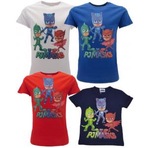 Maglietta Super Pigiamini Pjmasks T-shirt Bimbo Pj Masks PS 25074 - pelusciamo store