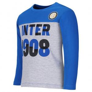 T-Shirt Fc Internazionale Neonato Maglietta  Bimbo Inter Primi Mesi  | Pelusciamo.com