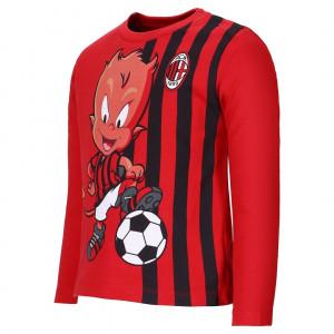 T-Shirt Milan Neonato Maglietta Bambino Primi Mesi  | Pelusciamo Store Marchirolo