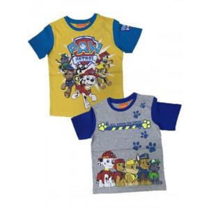 T-shirt Bambino Paw Patrol Maglia Maglietta Nickelodeon | Pelusciamo.com