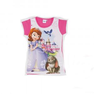 T-Shirt bimba Disney manica corta maglietta principessa Sopia *18059