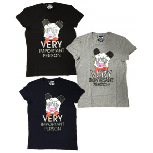 T-Shirt Donna Hello Spank Vip Maglietta maniche corte Cartoon | pelusciamo.com