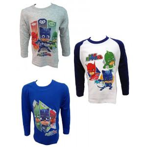 Maglietta Manica Lunga Pjmasks SuperPigiamini T-shirt Pj Masks PS 25454 Pelusciamo Store Marchirolo