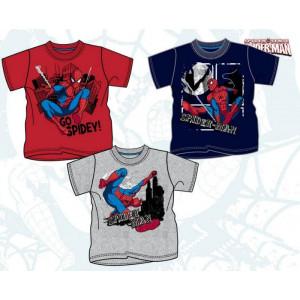 T-Shirt Maglietta Bimbo Spiderman Uomo ragno