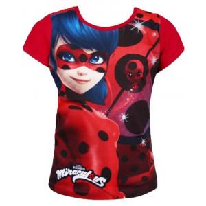 T-shirt Bambina Miraculous LadyBug Maglietta Manica Corta PS 10025 Pelusciamo Store Marchirolo
