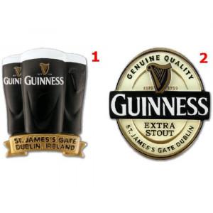 Magnete Da frigo Guinness Beer Pinta o Logo in rilievo PS 09176 gadget birra