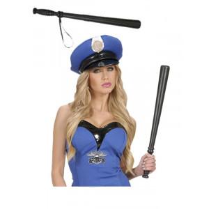 Manganello polizia accessori x costume carnevale poliziotti militari *19908 pelusciamo store