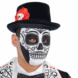 Maschera Halloween Adulto Day of the Dead | pelusciamo.com