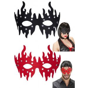 Maschera Donna  da Dominatrice, Uomo Dominatore, Halloween | pelusciamo.com