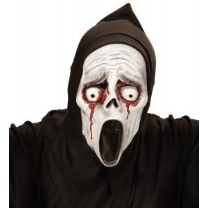 Maschera Halloween bimbo Fantasma Scream Sangue | pelusciamo.com