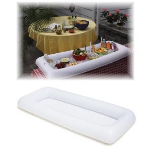 Materassino vassoio party 120 cm. *07291 accessori piscina mare pelusciamo store