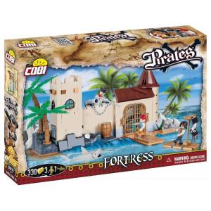 Gioco Costruzioni Cobi Fortezza Pirati 330pz   pelusciamo store