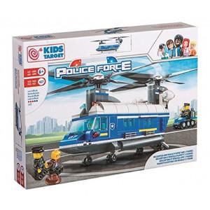 Mega Costruzioni Mattoncini Police Force Elicottero PS 09139 Pelusciamo Store Marchirolo