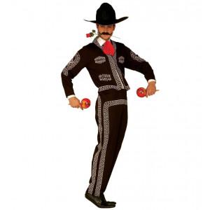 Costume Carnevale Uomo , Messicano Mariachi *25005  | Pelusciamo.com