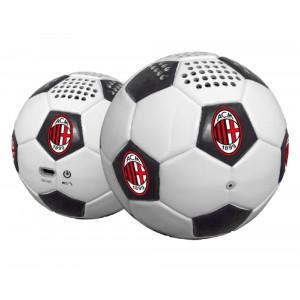 Altoparlante bluetooth A Forma Di Pallone Da Calcio Milan PS 05813 Prodotto Ufficiale pelusciamo store