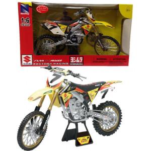 Modellini motocross moto da cross Suzuki RM-Z450 James Stewart 04743 pelusciamo store