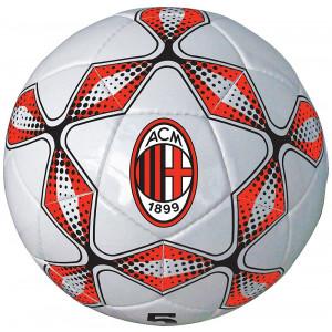 Pallone Da Calcio In Cuoio AC Milan Misura 5 PS 09580 pelusciamo store